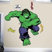 Room Mates Marvel Enterprises Classic Hulk Comic Peel and Stick Giant Wall Decal