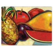 CounterArt Caribbean Fruit Flexible Cutting Mat by