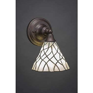 Toltec Lighting Any 1-Light Armed Sconce
