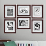 nexxt Design Gallery Picture Frame (Set of 6); Espresso