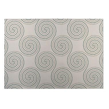 Kavka Ivory Indoor/Outdoor Doormat; 5' x 7'