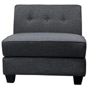 BestMasterFurniture Armless Slipper Chair