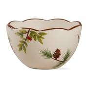 TAG 24 oz. Scalloped Greenery Bowl