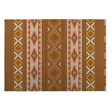 Kavka Rust Indoor/Outdoor Doormat; 2' x 3'