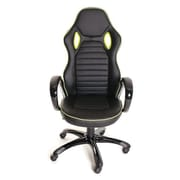 TimeOffice High-Back Desk Chair; Black