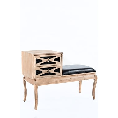 Statements by J Logan Entryway Bench w/ Drawers