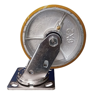 Blickle Heavy-Duty Kingpinless Caster, Wheel Diameter: 8