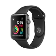 Apple – Montre Apple Watch Series 1, 38 mm, boîtier en aluminium gris cosmique, bracelet sport noir (MP022CL/A )