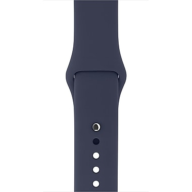 Apple – Bracelet sport pour montre Watch de 38 mm, bleu de minuit (MLKX2ZM/A)