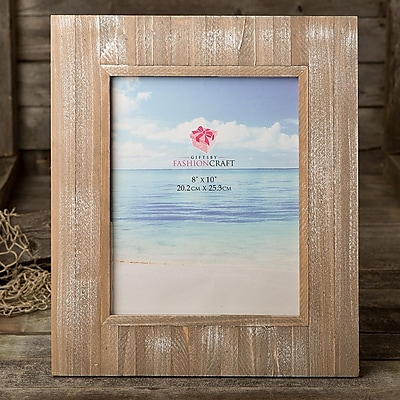 FashionCraft Wood Picture Frame; 8'' x 10''