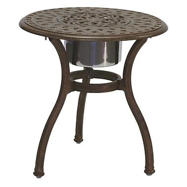 Astoria Grand Fairmont Side Table; Antique Bronze