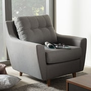 Wholesale Interiors Alcee Armchair; Gray