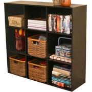 Venture Horizon VHZ Office Project 36'' Cube Unit Bookcase; Black