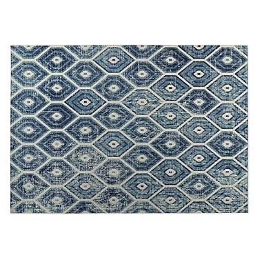 Kavka Denim Indoor/Outdoor Doormat; 4' x 5'