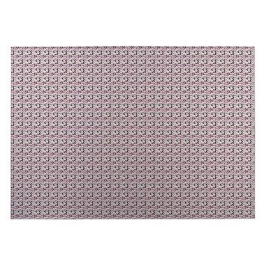 Kavka Blush Indoor/Outdoor Doormat; 5' x 7'