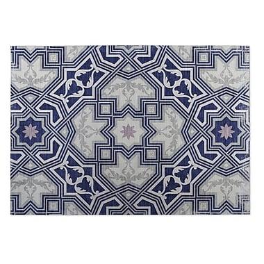 Kavka Rite Gray Indoor/Outdoor Doormat; 4' x 5'
