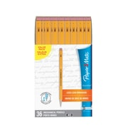 Paper Mate SharpWriter Mechanical Pencils, 0.7mm, HB #2, Box of 36