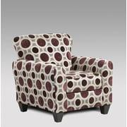 Brayden Studio Golding Mulberry Armchair