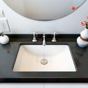 A&E Bath and Shower Fusion Undermount Ceramic Basin Bathroom Sink