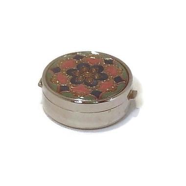 Elegance Round Pill Box