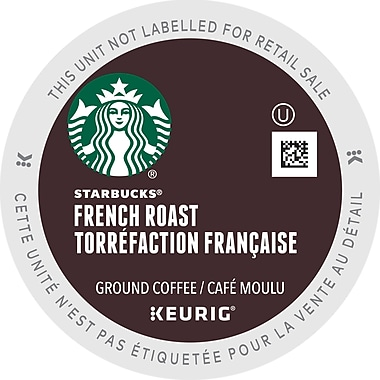 Starbucks French Roast Coffee K-Cup Refills, 32/Pack (93-09707)