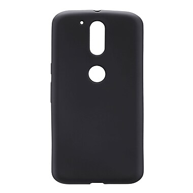 Blu Element Matte TPU Moto G4 Plus, Black (BMTGPBK)