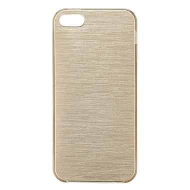 Blu Element – Étui brossé TPU pour iPhone 5/5s/SE, doré (BBTI5GD)