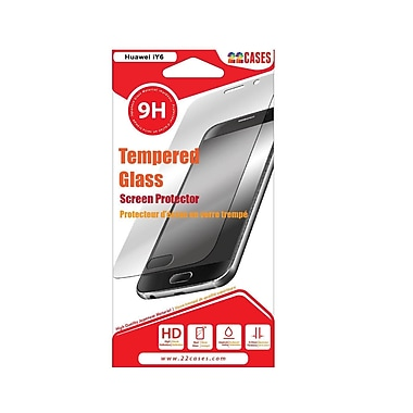 22 cases Glass Screen Protector, Huawei Y6 (22 cases Y6)