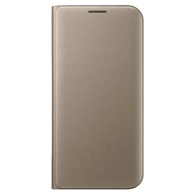 Samsung Flip Wallet GS7 Edge, Gold (EFWG935PFEGCA)