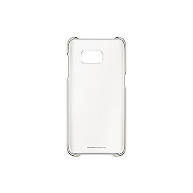 Samsung Clear Cover GS7 Edge, Gold (EFQG935CFEGCA)