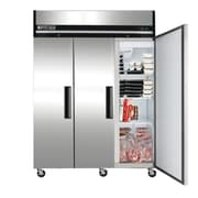 Maxximum Cold 3-Door 72 Cu. Ft. Stainless Steel Freezer