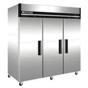 Maxx Cold - Réfrigérateur vertical commercial à 3 portes de série X, acier inoxydable, 72 pi cu