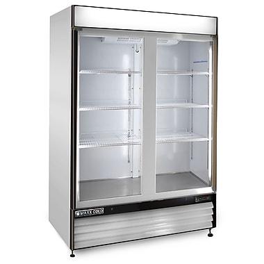 Maxximum Cold X-Series 12 Cu. Ft. Clear 2-Door Freezer