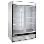Maxximum Cold X-Series 12 Cu. Ft. Clear 2-Door Freezer