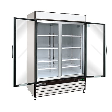 Maxximum Cold X-Series Clear 2-Door Refrigerator