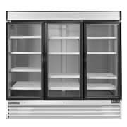 Maxximum Cold X-Series Clear 3-Door Refrigerator