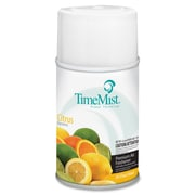 TimeMist® Metered Aerosol Fragrance Dispenser Refills, 6.6 oz, Citrus, 12/Carton (1042781)