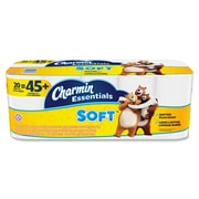 Charmin Essentials Soft™ Toilet Paper, 2-Ply, 200 Sheets/Roll, 20 Giant Rolls/Pack (96609)