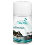 TimeMist® Metered Aerosol Fragrance Dispenser Refills, 6.6 oz, Caribbean Waters, 12/Carton (1042756)