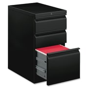 "HON 3 Drawer Vertical File Cabinet, Black, 20""D (BSXHBMP2BP) NEXT2018 NEXT2Day"