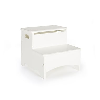Guidecraft G85706 Classic White Storage Step-up, 13 x 14 x 12