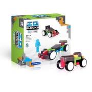 Guidecraft – IO BlocksMD G9607, ensemble de voitures de course, différentes tailles, multicolore
