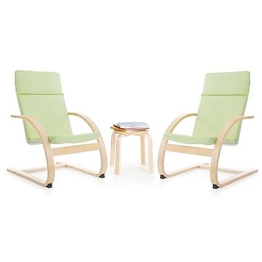 Guidecraft – Ensemble de chaises berçantes pour enfants G6338k, sauge