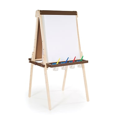 Guidecraft G51030 Wooden Floor Easel, 24 x 26 x 45
