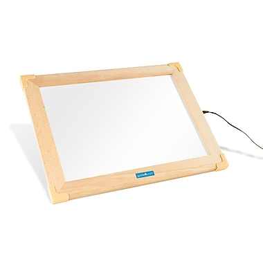 Guidecraft – Tablette d'activité INT à la DEL G16836int 19 x 15 x 0,75 (po), bois naturel