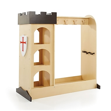 Guidecraft G99400 Castle Dramatic Play Storage, 42H x 43W x 20d