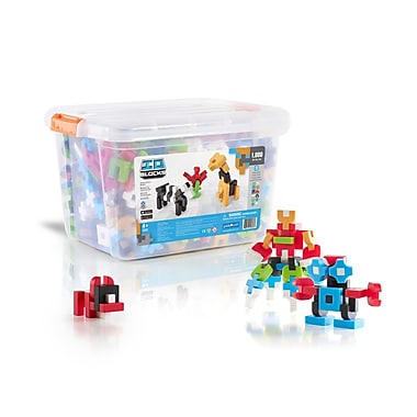Guidecraft G9603 Io Blocks, ® 1000 Piece Education Set, Various Size, Multicolour Set