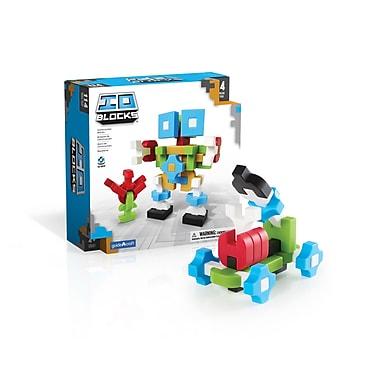 Guidecraft G9601 Io Blocks, ® 114 Pieces, Various Sizes, Multicolour Set