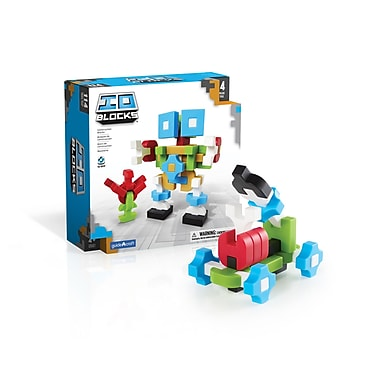 Guidecraft – IO BlocksMD G9601 de 114 pièces, différentes tailles, multicolore