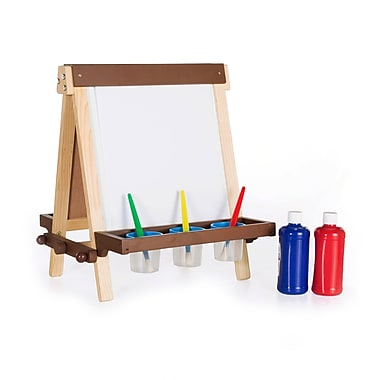 Guidecraft G51031 Wooden Tabletop Easel, 17 x 19 x 19.5